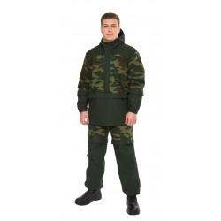 Мужской костюм Биостоп Лайт (зеленый камуфляж/охотничий зеленый)